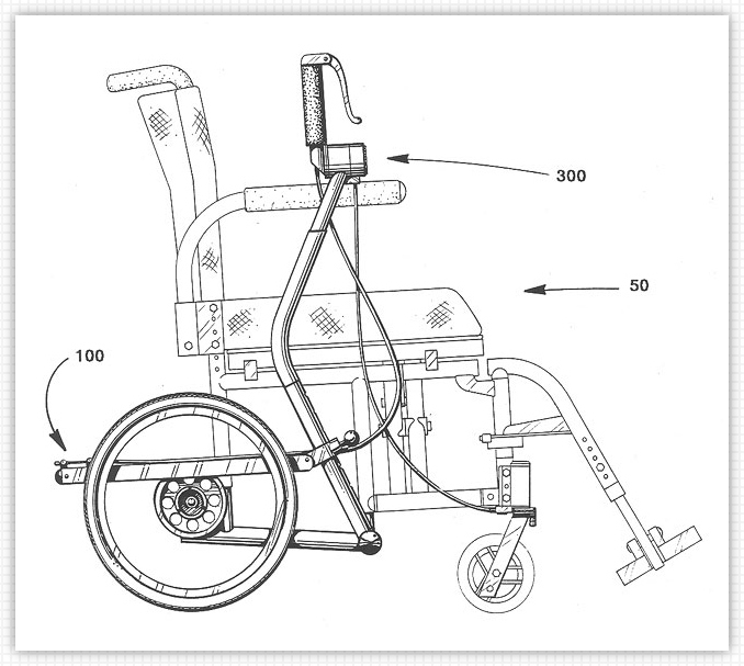 lever drive wheelchairs mechanical details
